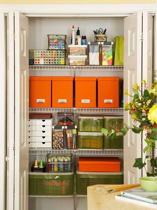 organized office closet. home office closet organization organized f
