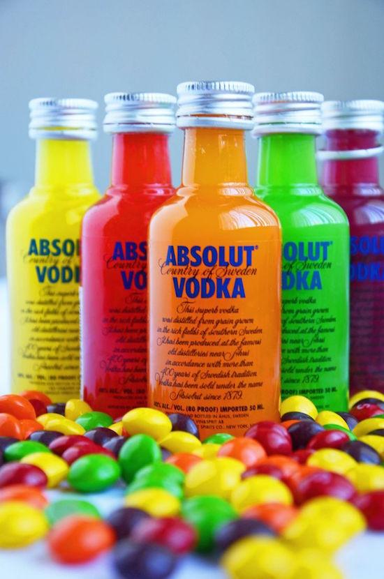 absolut vodka party favor