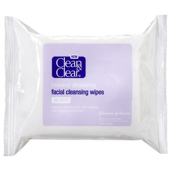 clean and clear facial wipes